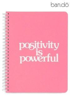 ban.do 'Positivity is Powerful' Rough Draft Mini Notebook
