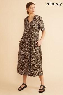 Albaray Leopard Midi Dress