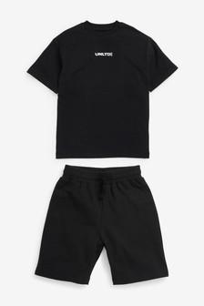 Oversized T-Shirt And Short Set (3-16yrs)
