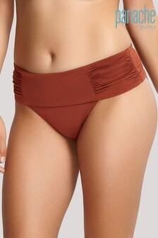 Panache Rust Marina Fold Bikini Briefs