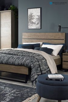 Tivoli Weathered Low Foot End Bedstead by Bentley Design
