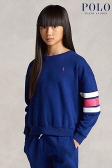 Ralph Lauren Navy Polo Sweatshirt