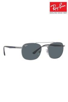 Ray-Ban Square Frame Double Bridge Sunglasses