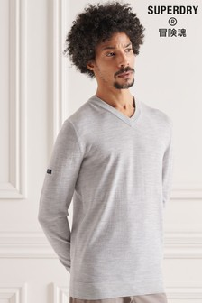 Superdry Merino V-Neck Jumper