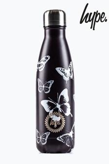 Hype. Mono Butterflies Metal Reusable Bottle