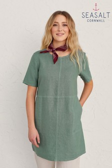 Seasalt Cornwall Green Soft Shading Tunic