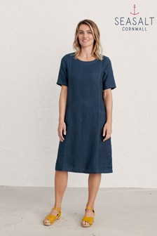 Seasalt Cornwall Blue Painting Class Dress