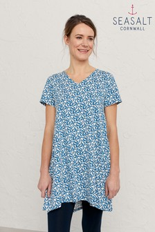 Seasalt Cornwall Blue Field Guide Tunic