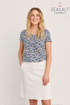 Seasalt Cornwall Blue Siren Song Top