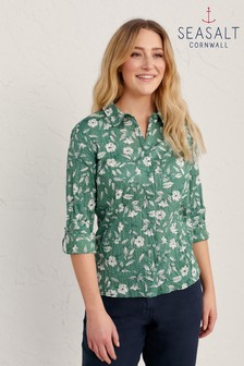 Seasalt Cornwall Green Larissa Shirt
