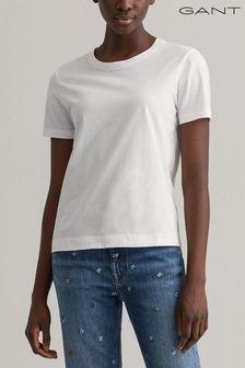 GANT White Ori T-Shirt