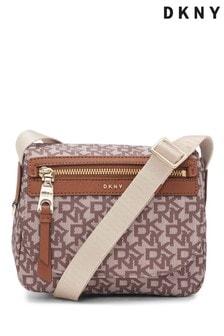 DKNY Cora Flap Nylon Cross-Body Bag
