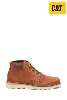 CAT Lifestyle Brown Jackson Mid Lace Shoes