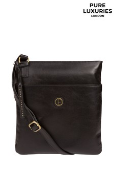 Pure Luxuries London Foxton Leather Cross Body Bag