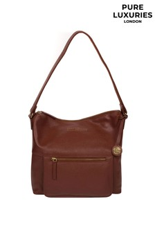 Pure Luxuries London Tenley Leather Shoulder Bag