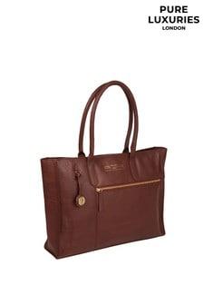 Pure Luxuries London Buckingham Leather Tote Bag