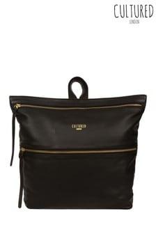 Cultured London Addington Leather Backpack