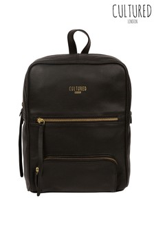 Cultured London Abbey Leather Backpack