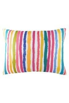 Multi Aquarelle Stripe Cushion