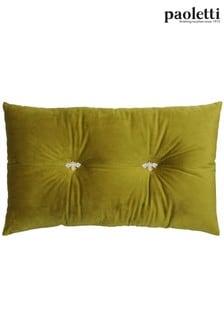 Riva Paoletti Green Bumble Cushion