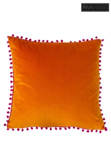 Riva Home Orange Carnival Cushion