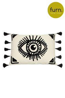 Furn Monochrome Ashram Eye Cushion