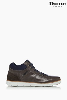 Dune London Brown Stakes High Top Trainers