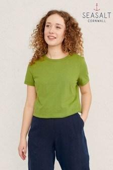 Seasalt Cornwall Green Reflection T-Shirt