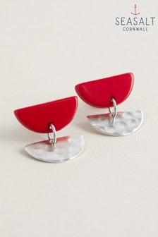 Seasalt Cornwall Red Symphony Earrings