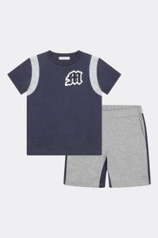 Moncler Enfant Boys T-Shirt & Shorts Set