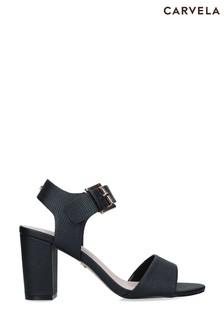 Carvela Black Sadie Sandals