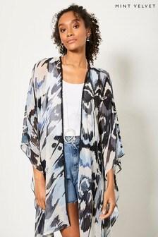 Mint Velvet Alma Print Kimono