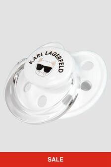 Karl Lagerfeld Baby White Dummy