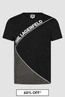 Karl Lagerfeld Boys Black T-Shirt