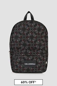 Karl Lagerfeld Boys Black Bag