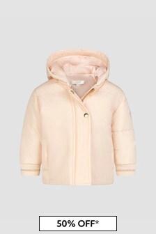 Chloe Kids Baby Girls Pink Jacket