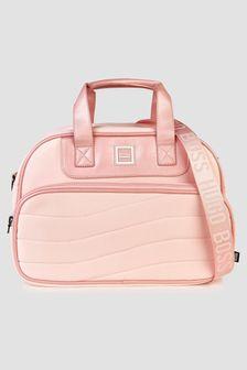 Boss Kidswear Baby Girls Pink Changing Bag