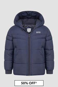 Boss Kidswear Boys Navy Jacket