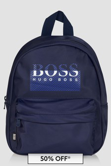 Boss Kidswear Baby Boys Navy Backpack