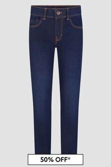 Boss Kidswear Boys Blue Jeans