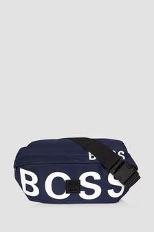 Boss Kidswear Boys Navy Bumbag
