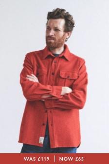 Aubin Lysaghts Wool Overshirt