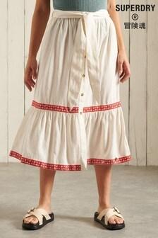 Superdry Midi Skirt