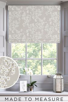 Natural Made To Measure Roman Blind