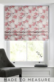 Red Senses Made To Measure Roman Blind
