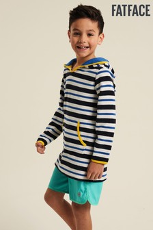 FatFace Stripe Beach Buddy Hooded Cover-Up