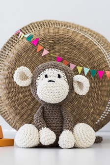 Crafter's Companion Make Your Own Monkey Crochet Kit