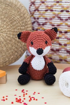 Crafter's Companion Make Your Own Fox Crochet Kit