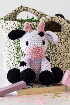 Crafter's Companion Make Your Own Cow Crochet Kit