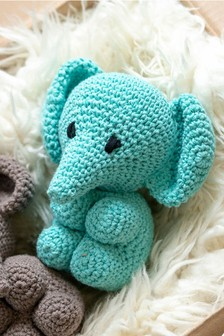 Crafter's Companion Make Your Own Elephant Crochet Kit